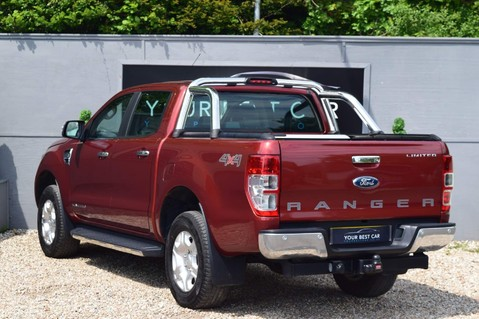 Ford Ranger LIMITED 4X4 DCB TDCI 4