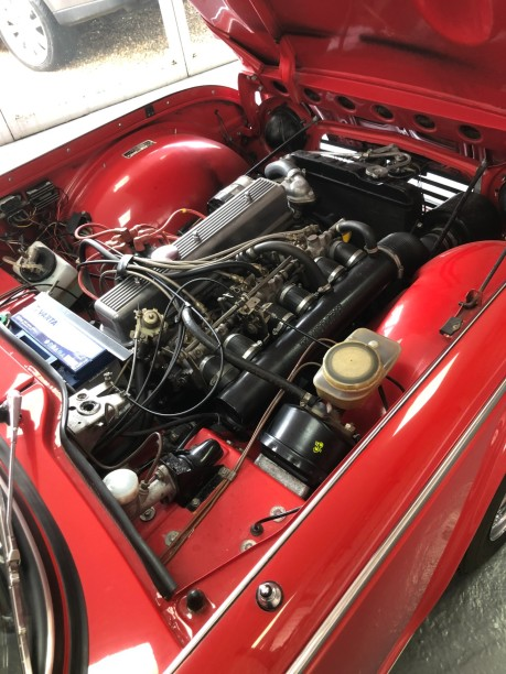 Triumph TR5 Roadster 17