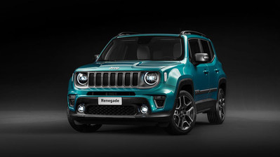 Jeep Renegade MY21 1.3 T4 Night Eagle GSE DDCT