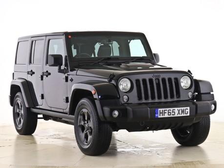 Jeep Wrangler 2.8 CRD Black Edition 4dr Auto Hardtop