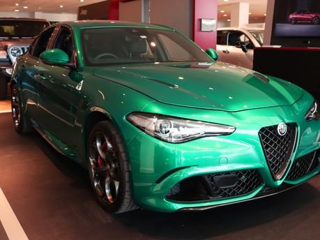 Alfa Romeo Giulia Giulia 2.9 V6 BiTurbo Quadrifoglio 4dr Auto MY21 Saloon