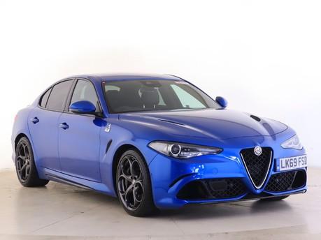 Alfa Romeo Giulia 2.9 V6 BiTurbo Quadrifoglio 4dr Auto Saloon