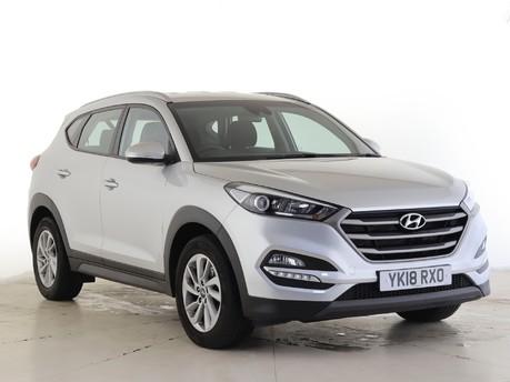 Hyundai Tucson 2.0 CRDi SE Nav 5dr Auto Estate