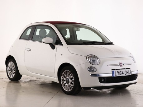 Fiat 500  1.2 Lounge 2dr [Start Stop] Convertible