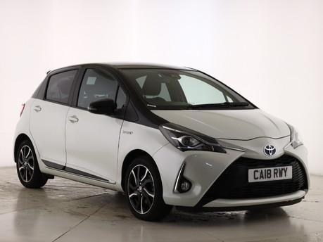 Toyota Yaris 1.5 VVT-i Y20 5dr CVT [Bi-tone]