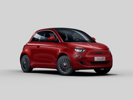 Fiat 500 500 87kW Red 42kWh 2dr Auto Convertible