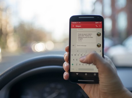 Penalty Points and Fines for Using a Handheld Mobile Phone to Double