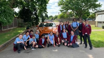 Wilsons Epsom Supercar Primary School Visit