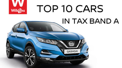 Top 10 Cars in Tax Band A