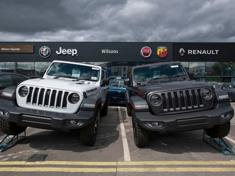 Jeep Valuations