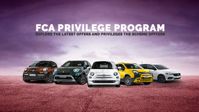 Fiat, Abarth, Alfa Romeo and Jeep Affinity Programme