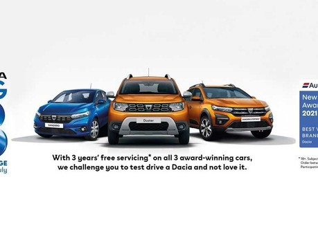 Dacia BIG 3 Challenge - Are you ready to fall in love?