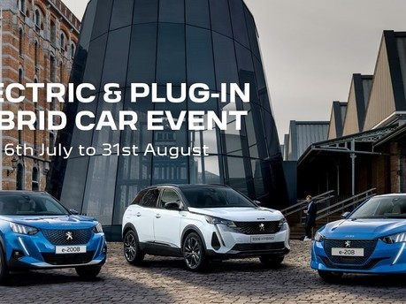 Peugeot Electric and Plug-In Hybrid Car Event