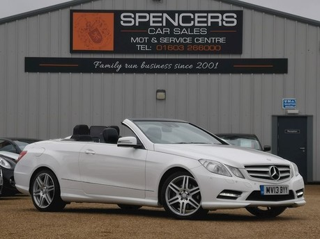 Mercedes-Benz E Class E220 CDI BLUEEFFICIENCY SPORT