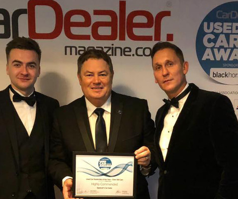 Spencers Car Sales Highly Commended at Used Car Awards