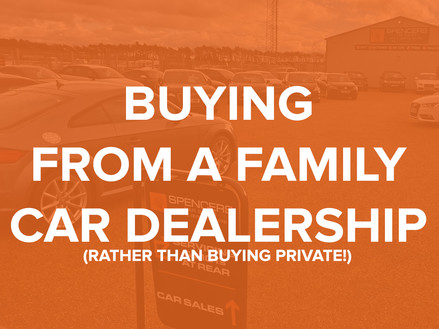 Why you should buy from used car dealers