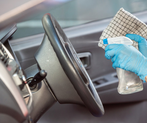 Tips to disinfect your car