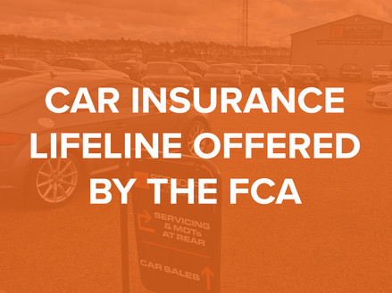 Car insurance lifeline is offered to motorists by FCA