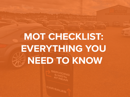 MOT Checklist: Everything you need to know