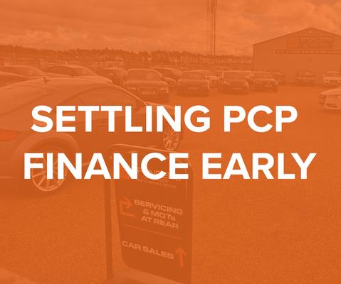 Settling PCP finance early