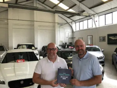 Auto Trader Highly Rated Award 2019