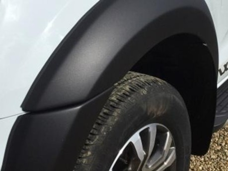 Ford Ranger Wheel-Arch Extensions (Matte Black Finish)