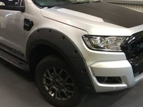 Ford Ranger Matte Black Bolt-On-Look Finish