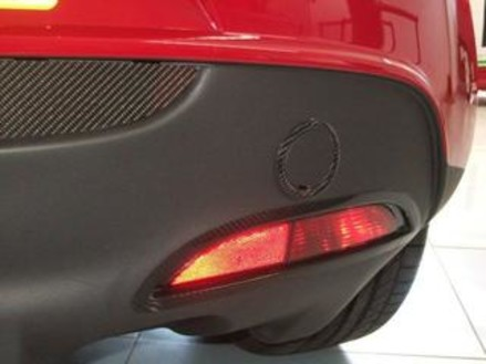 Tow-Bar Cover in Carbon Fibre