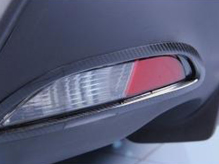 Rear Bumper Lamp Surround in Carbon Fibre - £159.95