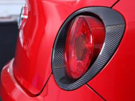 Rear Light Surrounds in Carbon Fibre - £164.95