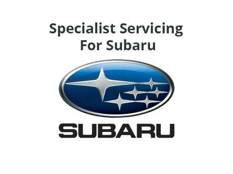Subaru Service & MOT