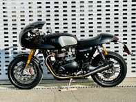 Triumph Thruxton 1200 1200 TFC (Carbon Fibre Black) 13