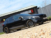 Mercedes-Benz A Class 2.0 A45 AMG Yellow Night Edition SpdS DCT 4MATIC (s/s) 5dr