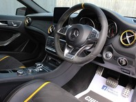 Mercedes-Benz A Class 2.0 A45 AMG Yellow Night Edition SpdS DCT 4MATIC (s/s) 5dr 3