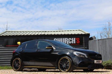 Mercedes-Benz A Class 2.0 A45 AMG Yellow Night Edition SpdS DCT 4MATIC (s/s) 5dr 7