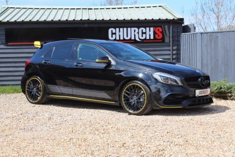 Mercedes-Benz A Class 2.0 A45 AMG Yellow Night Edition SpdS DCT 4MATIC (s/s) 5dr 9