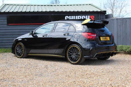 Mercedes-Benz A Class 2.0 A45 AMG Yellow Night Edition SpdS DCT 4MATIC (s/s) 5dr 10