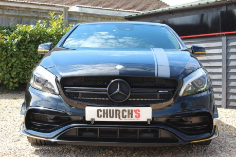 Mercedes-Benz A Class 2.0 A45 AMG Yellow Night Edition SpdS DCT 4MATIC (s/s) 5dr 12
