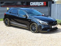 Mercedes-Benz A Class 2.0 A45 AMG Yellow Night Edition SpdS DCT 4MATIC (s/s) 5dr 13