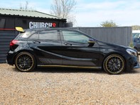 Mercedes-Benz A Class 2.0 A45 AMG Yellow Night Edition SpdS DCT 4MATIC (s/s) 5dr 17