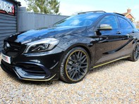 Mercedes-Benz A Class 2.0 A45 AMG Yellow Night Edition SpdS DCT 4MATIC (s/s) 5dr 18