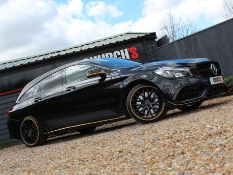 Mercedes-Benz Cla Class 2.0 CLA45 AMG Shooting Brake SpdS DCT 4MATIC (s/s) 5dr
