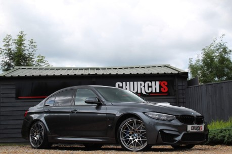 BMW M3 3.0 BiTurbo Competition DCT (s/s) 4dr 2
