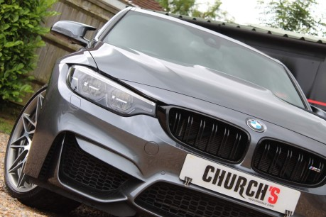 BMW M3 3.0 BiTurbo Competition DCT (s/s) 4dr 4