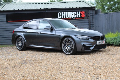 BMW M3 3.0 BiTurbo Competition DCT (s/s) 4dr 9