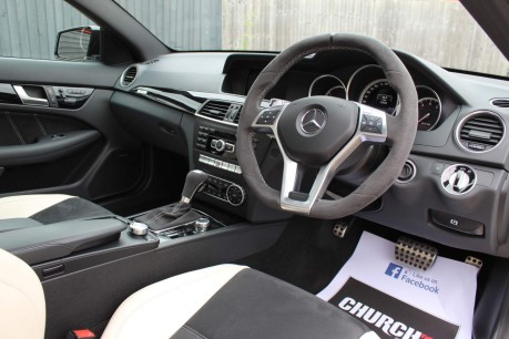 Mercedes-Benz C Class 6.3 C63 AMG Edition 507 MCT 4dr 3