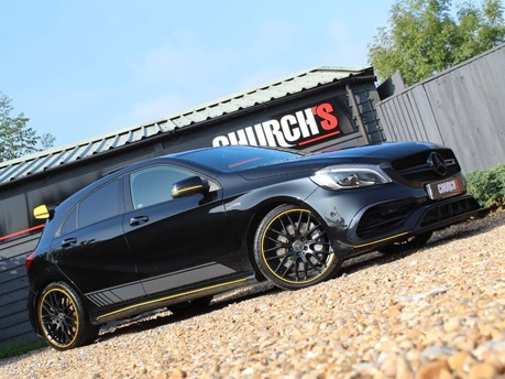 Mercedes-Benz A Class AMG A 45 4MATIC YELLOW NIGHT EDITION