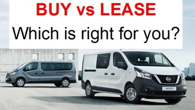 Should You Buy or Lease a New Van?