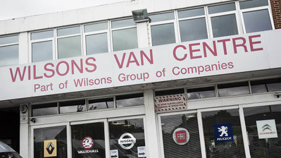Wilsons Purchase Loads of Vans Site and Showroom