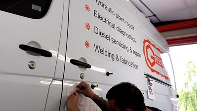 Should You Sign Write Your Van?